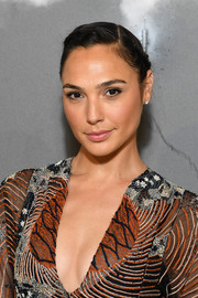 Gal Gadot went boho with this braided updo at the Dior Couture Fall 2019 show.