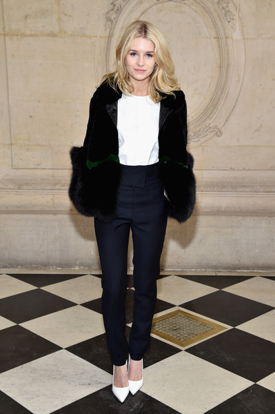 Lottie Moss at Christian Dior