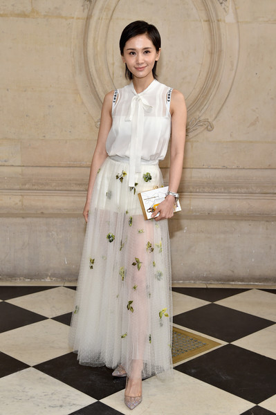 Wang Ziwen at Christian Dior