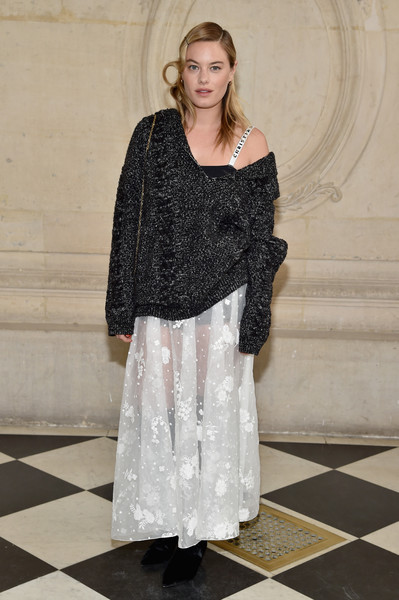 Camille Rowe at Christian Dior