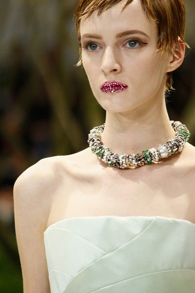 Christian Dior's Embellished Lips
