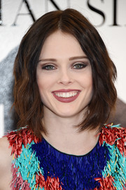 Coco Rocha framed her face with a cute wavy 'do for the Christian Siriano fashion show.