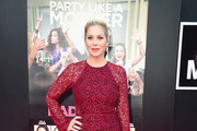 Christina Applegate Lace Dress