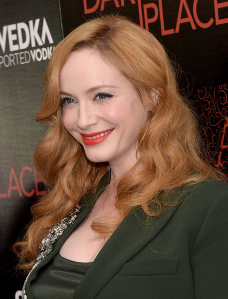 Christina Hendricks Long Curls