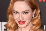 Christina Hendricks Long Wavy Cut
