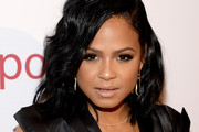 Christina Milian Medium Wavy Cut