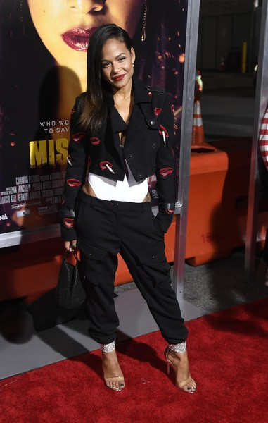 Christina Milian Cropped Jacket