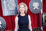 Christine Baranski Dangling Diamond Earrings