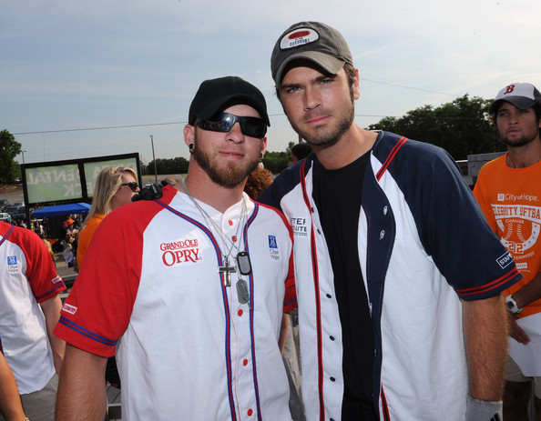 In The Dugout At City Of Hope's 2012 Celebrity Softball Challenge
