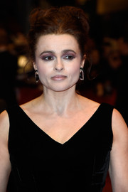 Helena Bonham Carter attended the BIFF premiere of 'Cinderella' wearing voluminous pinned-up curls.