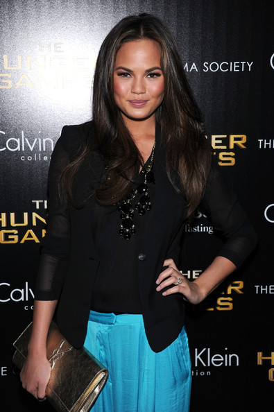More Pics of Chrissy Teigen Slacks (4 of 5) - Chrissy Teigen Lookbook - StyleBistro