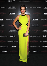 Nikki Reed was a stand-out on the 'Breaking Dawn' red carpet in a lime cutout dress.