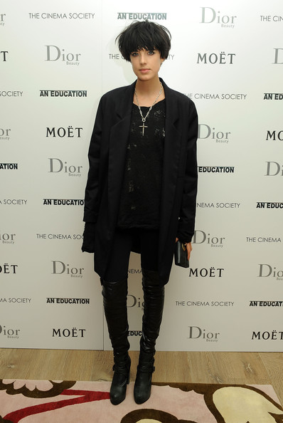 More Pics of Agyness Deyn Cross Pendant (1 of 3) - Agyness Deyn Lookbook - StyleBistro
