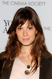 Elettra Wiedemann attended the screening of 'Young Adult' looking oh-so-pretty with her waves and bangs.