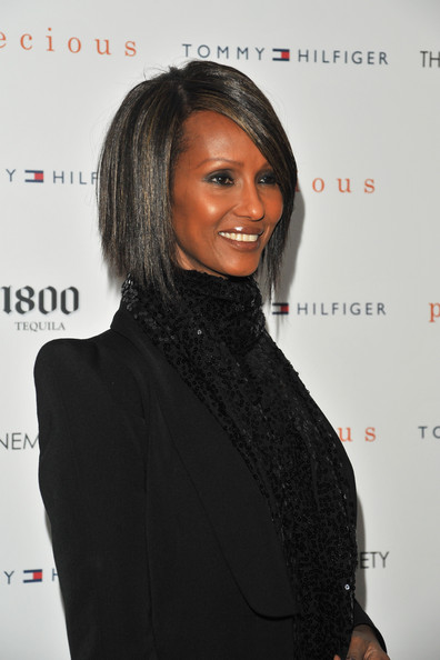 More Pics of Iman Blazer (1 of 3) - Outerwear Lookbook - StyleBistro [precious,hair,hairstyle,lip,long hair,premiere,black hair,outerwear,neck,event,fashion design,arrivals,iman,tommy hilfiger,screening,cinema society hosts a screening of ``precious,new york city,crosby street hotel,the cinema society]