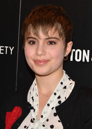 Sami Gayle attended the 'Kill Your Darlings' screening wearing a tousled pixie.