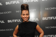 Singer Alicia Keys attends a screening of