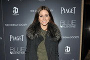 Olivia Palermo attends the Cinema Society & Piaget screening of