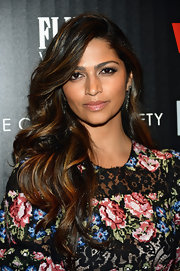 Camila Alves' full lips looked absolutely luscious with just a swipe of clear lip gloss.