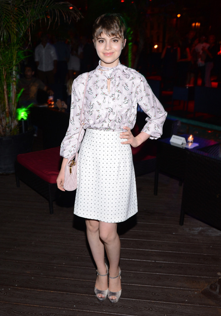 "Actress Sami Gayle attends the after party for The Cinema Society special screening of ""Two Days In New York at DL on August 8, 2012 in New York City."