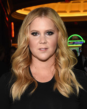 Amy Schumer sported mermaid waves at the CinemaCon Big Screen Achievement Awards.
