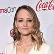 Hairstyles For Women With Fine Hair: Jodie Foster's Slick Waves