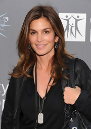 Cindy Crawford showed off her supermodel curls at the 2011 Spirit of Life Awards.