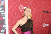 Claire Danes One Shoulder Dress