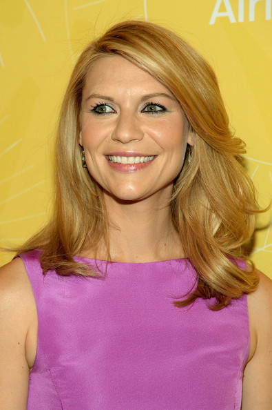 Claire Danes Medium Wavy Cut