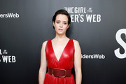 Claire Foy Studded Heels