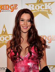 Joss Stone wore her long russet locks in soft curls at the Classic Rock of Honour.
