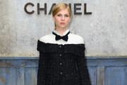 Clemence Poesy Skirt Suit