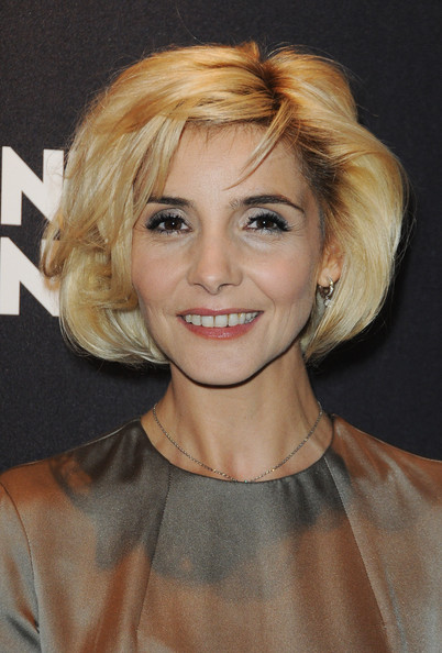 Clotilde Courau Bob [hair,face,blond,hairstyle,eyebrow,chin,lip,layered hair,forehead,bob cut,clotilde courau,cocktail,paris,france,montblanc,paris flagship boutique launch,cocktail party]