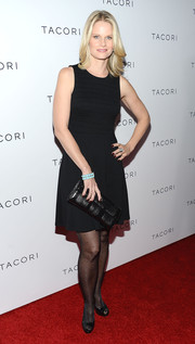 Joelle Carter kept it simple yet classic with this little black dress at the Club Tacori event.