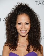 Sherri Saum was edgy-glam at the Club Tacori event with her wild curls.