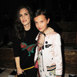 Winona Ryder and Millie Bobby Brown at Coach 1941 Women's