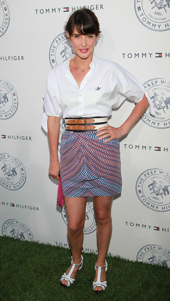 Cobie Smulders Button Down Shirt