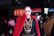 Coco Rocha Faux Fur Coat