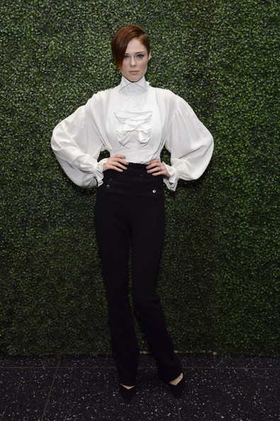 Coco Rocha High-Waisted Pants