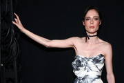 Coco Rocha Strapless Dress