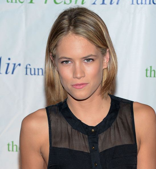 Cody Horn Bob [hair,face,hairstyle,blond,eyebrow,chin,shoulder,long hair,brown hair,layered hair,cody horn,fresh air funds salute to american heroes,the fresh air funds salute to american heroes at pier sixty,new york city,chelsea piers]