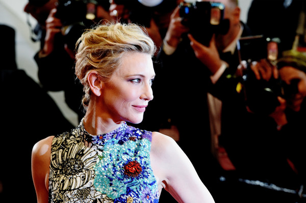 More Pics of Cate Blanchett Butterfly Ring (3 of 85) - Decorative Rings Lookbook - StyleBistro [image,hair,hairstyle,fashion,beauty,blond,fashion model,event,dress,fashion design,fashion accessory,red carpet arrivals,cate blanchett,jury,screening,cannes,zimna wojna,cold war,cannes film festival,palais des festivals]