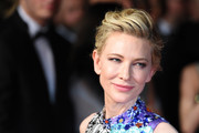 Cate Blanchett went edgy-glam with this pompadour at the Cannes Film Festival premiere of 'Cold War.'