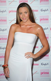Michelle Heaton wore a stack of bangles at the Comfort Prima High Street Fashion Awards.