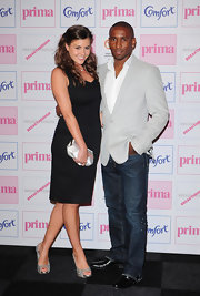 Imogen stepped out in sparkling peep-toe pumps for the Prima Fashion Awards.