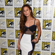 Look of the Day: Rhona Mitra's Comic-Con Cutouts