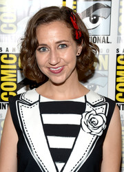 Kristen Schaal kept it classic with this curled-out bob during Comic-Con International 2016.