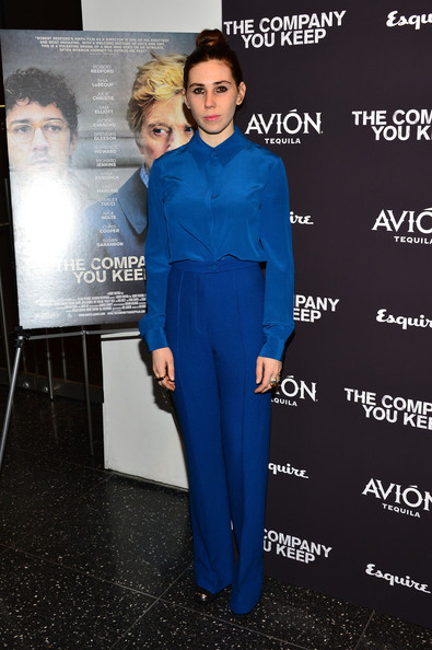 More Pics of Zosia Mamet Hair Knot (1 of 4) - Zosia Mamet Lookbook - StyleBistro