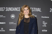Connie Britton Wool Coat