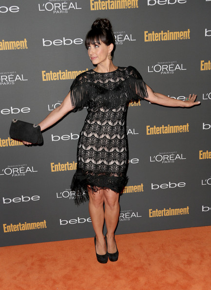 Constance Zimmer Little Black Dress